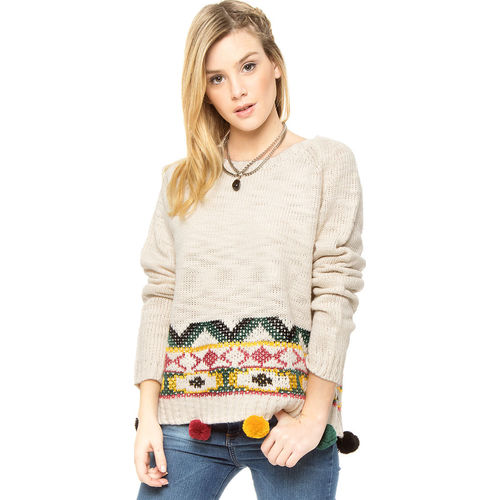 Sweater Natural 47 Street Indi 47 Street