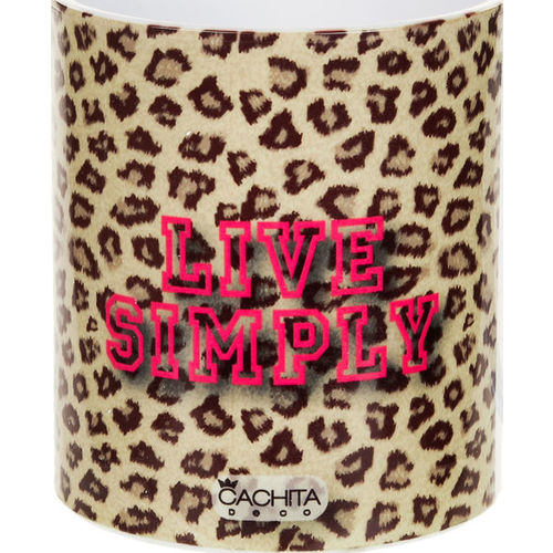 af82dc365ade Taza Animal Print Cachita Deco Live Simply Cachita Deco