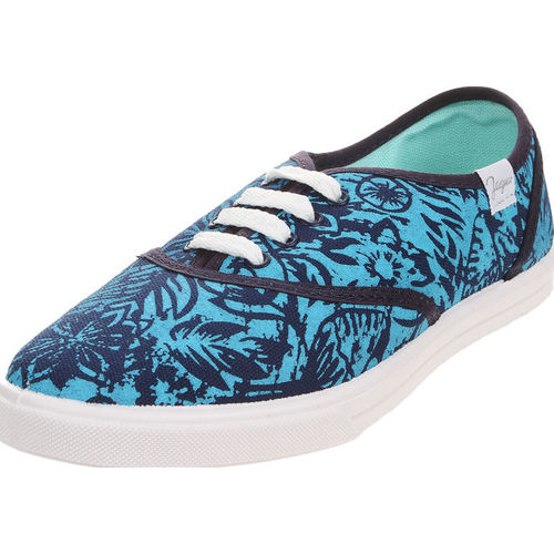 Zapatilla Azul Jaguar Estampada Jaguar
