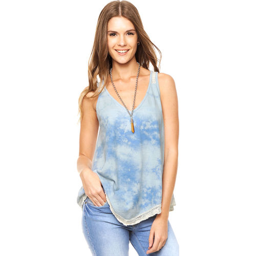 Musculosa Azul Try Me Paloma Faith Try Me