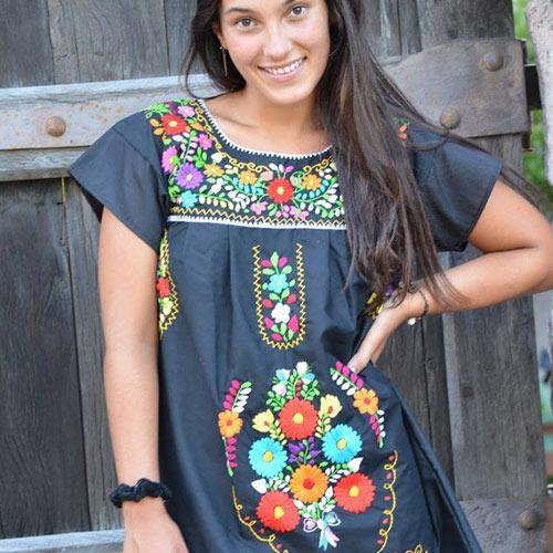 5c601f775 Donde conseguir Blusas y Vestidos Mexicanos en Argentina - El Bazar
