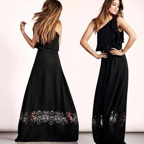 Etiqueta Vestidos Boda Mujer Negra Vestidos De Cjlq4ar35
