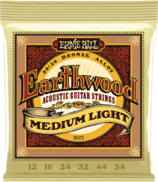 Medium Light Earthwood 80/20 Acoustic