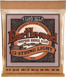 12-String Light Earthwood Phosphor Acoustic