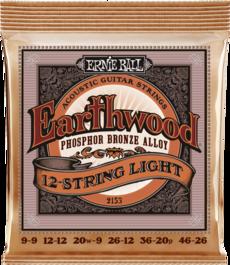 12-String Light Earthwood Phosphor Acoustic