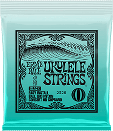 Ukulele Black Slinky Strings