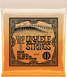 Ukulele Clear Slinky Strings