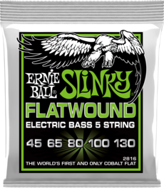 Regular Slinky Flatwound Bass 5