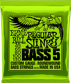 Regular 5-String Slinky Strings