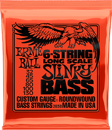 Long Scale 6 Slinky Strings