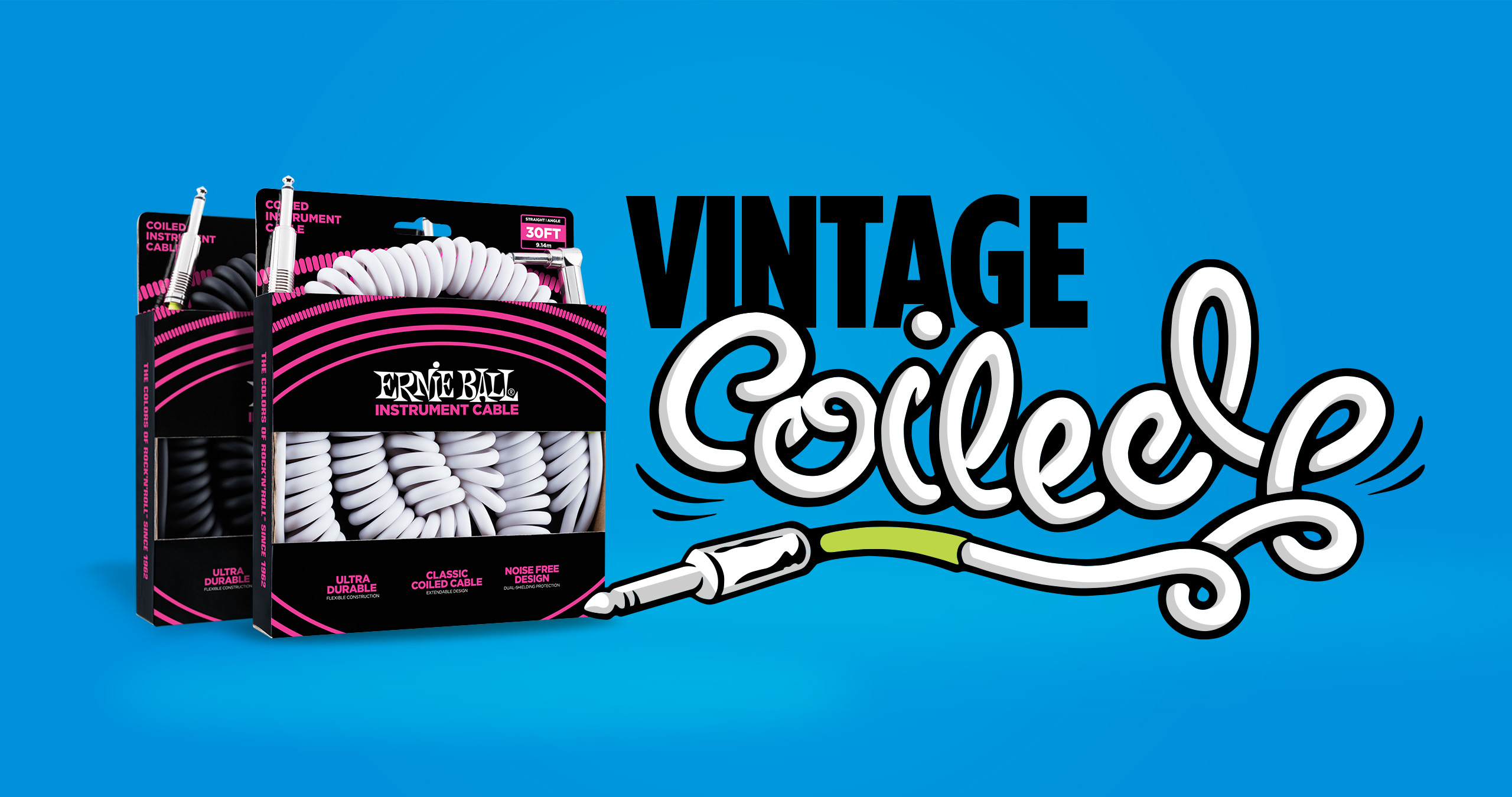 Coiled Cables Ernie Ball