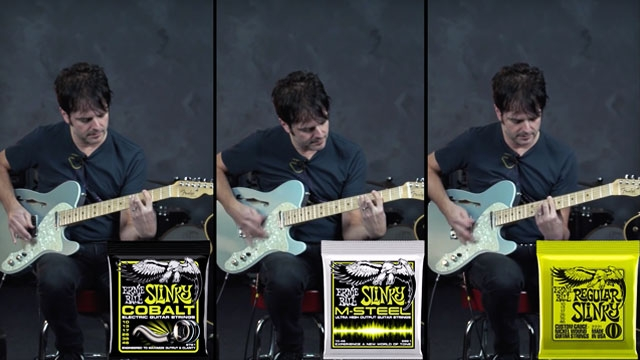 Guitar World's Tech Editor Paul Riario compares the three Slinky alloys.