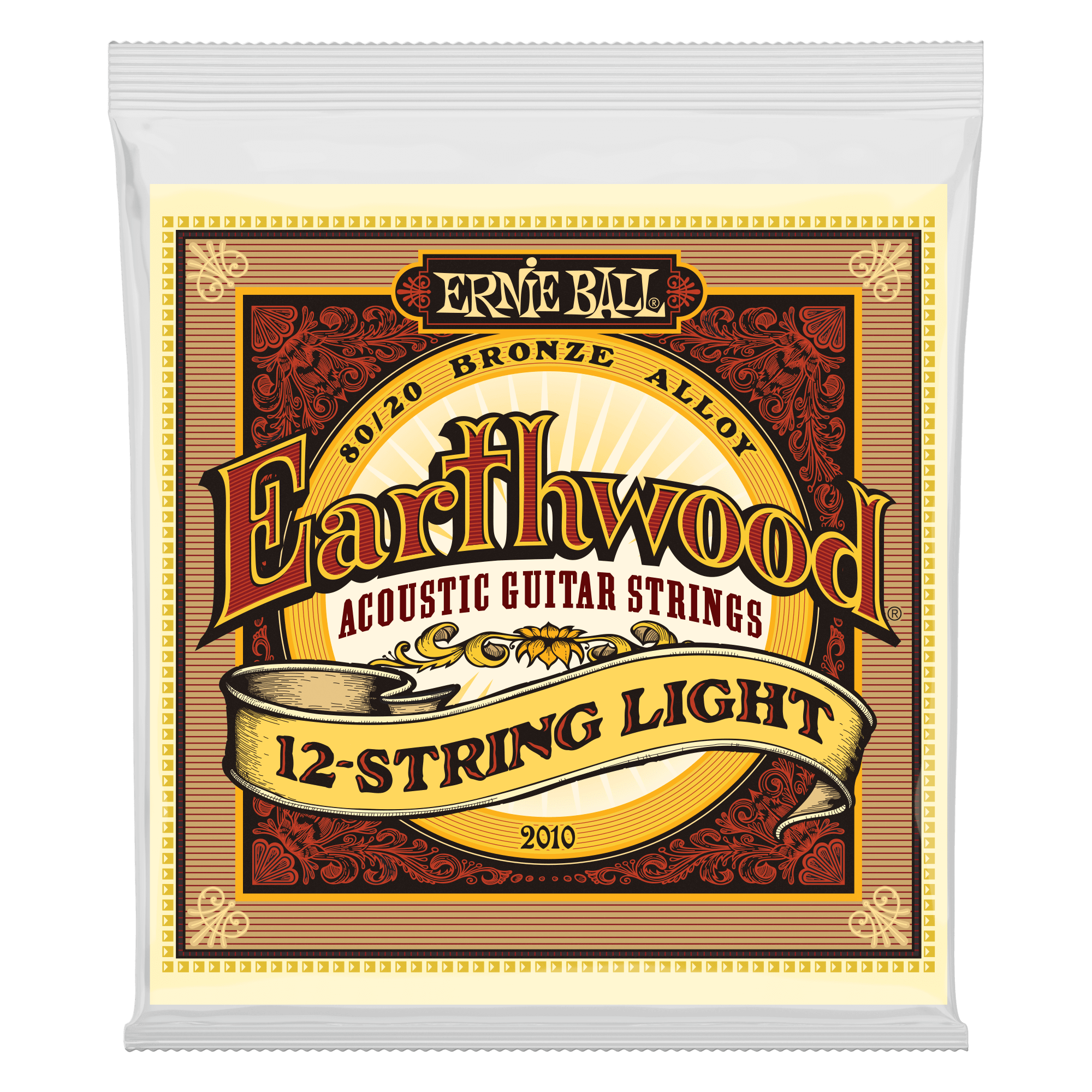 Earthwood 80 20 Bronze Acoustic Guitar Strings Ernie Ball