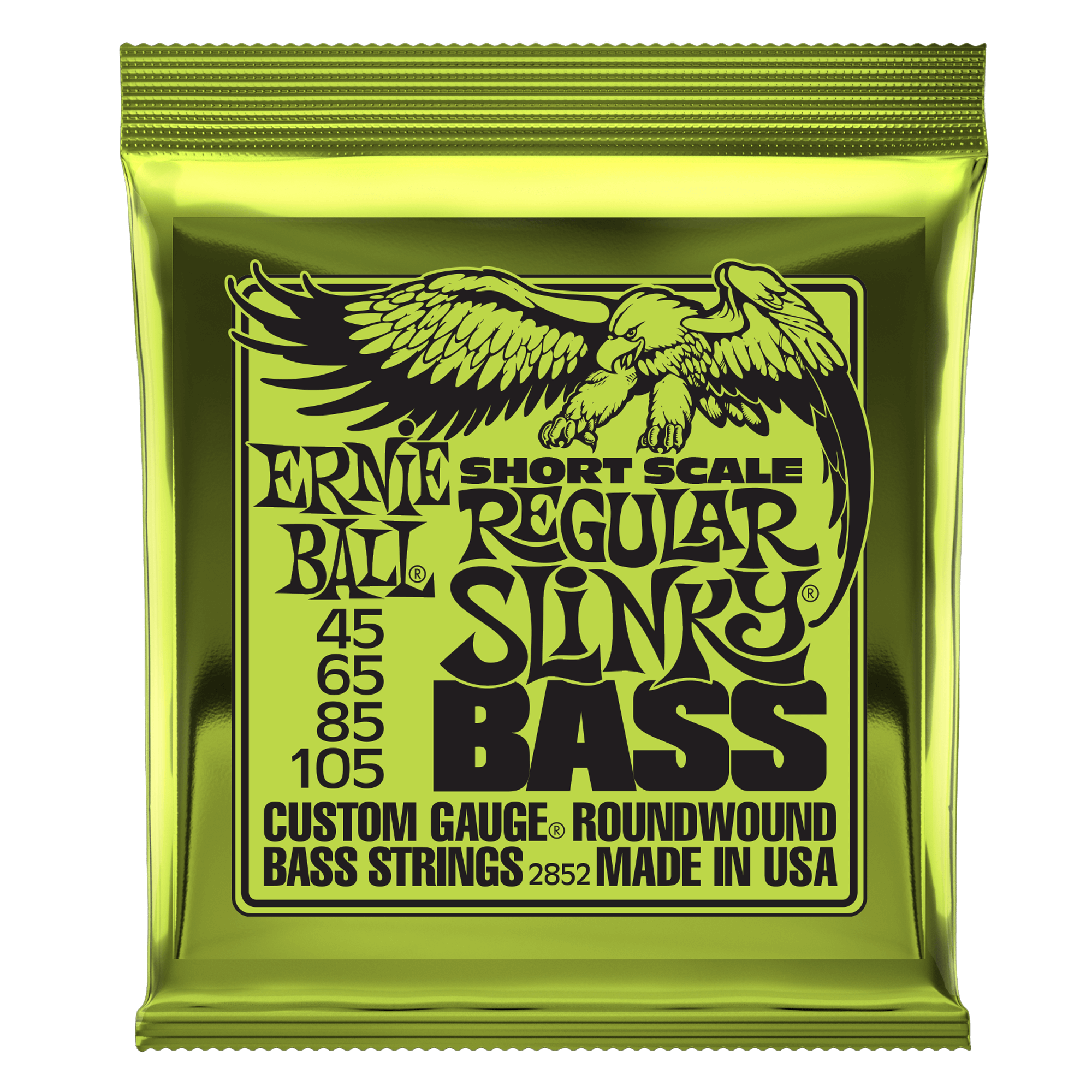 Slinky Nickel Wound Electric Bass Short Scale Strings