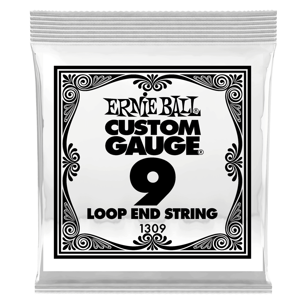 Loop End Stainless Steel Cordes Lisses pour Banjo ou Mandoline