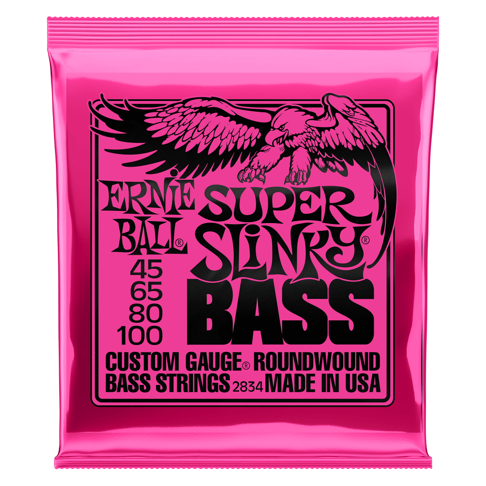 Slinky Nickel Wound Electric Bass Strings