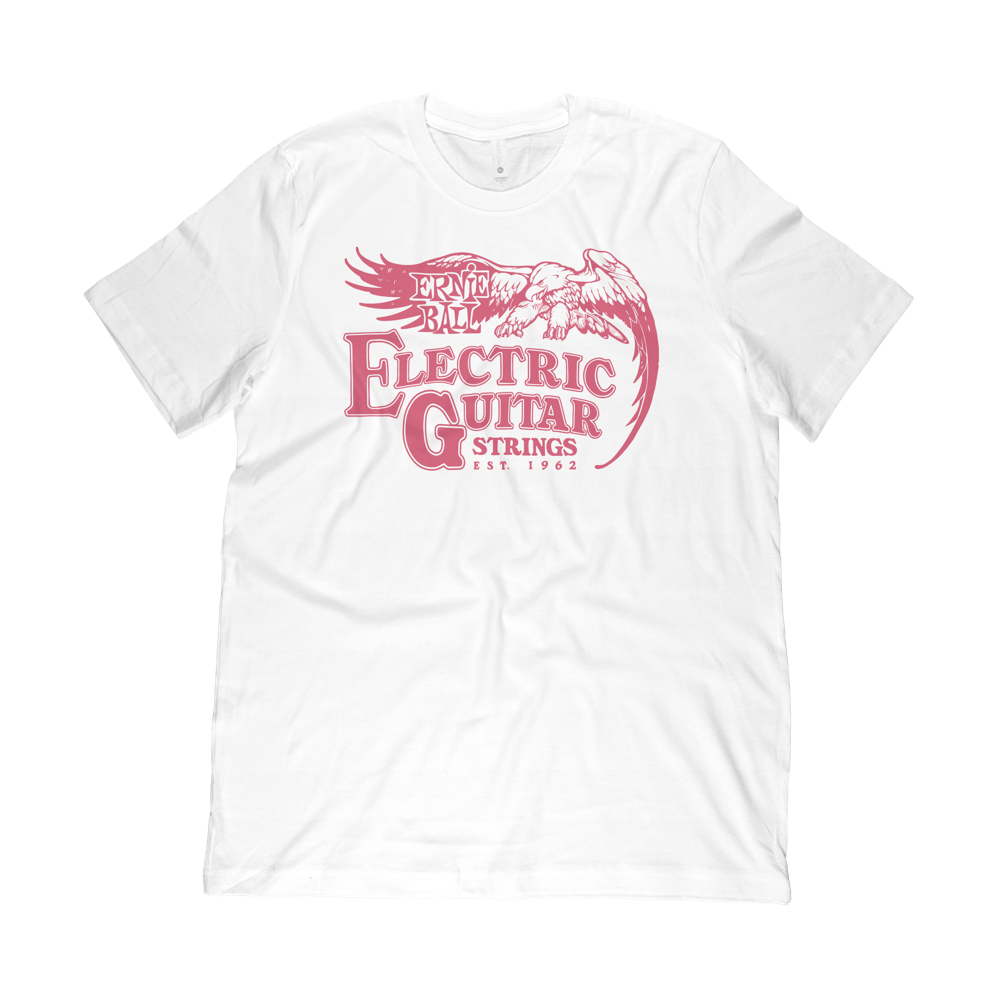 Ernie Ball '62 Electric Guitar T-Shirt SM Front