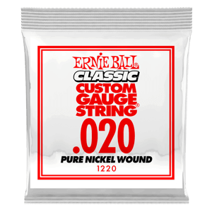 Pure Nickel Wound Konzertgitarren-Einzelsaite