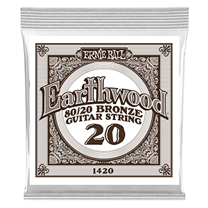 Earthwood 80/20 Bronze Cordes Unit pour Guitare Folk