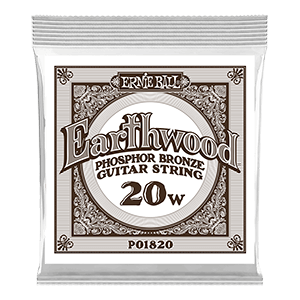Earthwood Phosphor Bronze Acoustic Guitar Single Strings