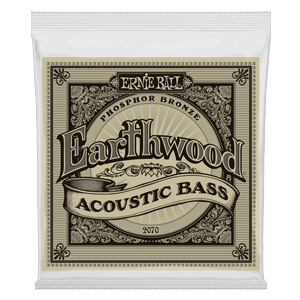 Earthwood Phosphor Bronze Cordes pour Basse Acoustique