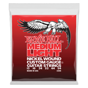 Cuerdas para Guitarra Eléctrica Nickel Wound Custom Gauge