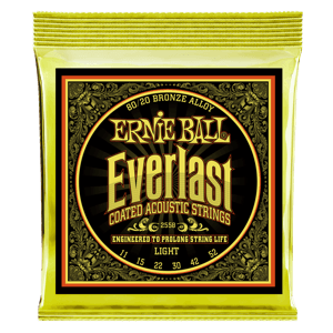 Cuerdas para Guitarra Acústica Everlast Coated 80/20 Bronze