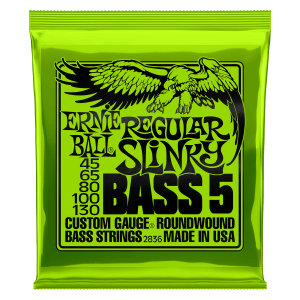Slinky Nickel Wound Electric Bass 5 Strings