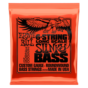 Slinky Nickel Wound Electric Bass Long Scale Strings
