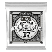 .017 Slinky Coated Titanium Reinforced Plain Guitarra Eléctrica Strings Paquete de 6  Thumb