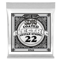 .022 Slinky Coated Nickel Wound Electric Guitar Strings 6 Pack Thumb