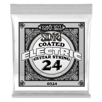 .024 Slinky Coated Nickel Wound Electric Guitar Strings 6 Pack Thumb