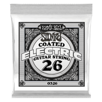 .026 Slinky Coated Nickel Wound Electric Guitar Strings 6 Pack Thumb