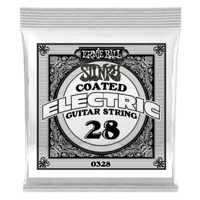 .028 Slinky Coated Nickel Wound Electric Guitar Strings 6 Pack Thumb