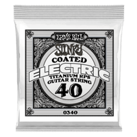 .040 Slinky Coated Nickel Wound Electric Guitar Strings 6 Pack Thumb