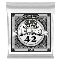.042 Slinky Coated Nickel Wound Electric Guitar Strings 6 Pack Thumb