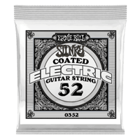 .052 Slinky Coated Nickel Wound Electric Guitar Strings 6 Pack Thumb