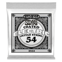 .054 Slinky Coated Nickel Wound Electric Guitar Strings 6 Pack Thumb