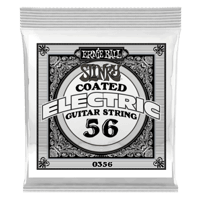.056 Slinky Coated Nickel Wound Electric Guitar Strings 6 Pack Thumb