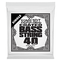 .040 Coated Nickel Wound Electric Bass String Single Thumb