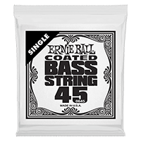 .045 Coated Nickel Wound Electric Bass String Single Thumb