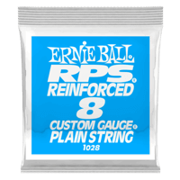 .008 RPS Reinforced Plain Electric Guitar Strings Pack of 6 Thumb