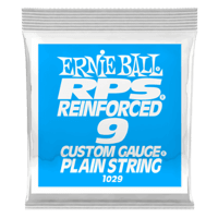 .009 RPS Reinforced Plain Electric Guitar Strings Pack of 6 Thumb