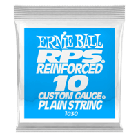 .010 RPS Reinforced Plain Electric Guitar Strings Pack of 6 Thumb