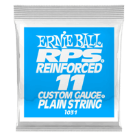 .011 RPS Reinforced Plain Electric Guitar Strings Pack of 6 Thumb