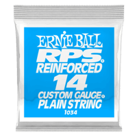 .014 RPS Reinforced Plain Electric Guitar Strings Pack of 6 Thumb