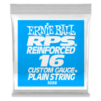 .016 RPS Reinforced Plain Electric Guitar Strings Pack of 6 Thumb