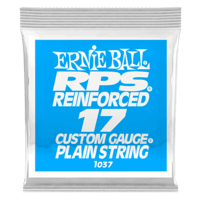 .017 RPS Reinforced Plain Electric Guitar Strings Pack of 6 Thumb
