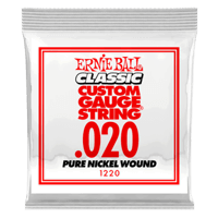 Paquet de 6 cordes .020 Classic Pure Nickel Wound Electric  Thumb