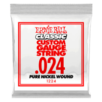 .024 Classic Pure Nickel Wound Electric Guitar Strings 6 Pack Thumb
